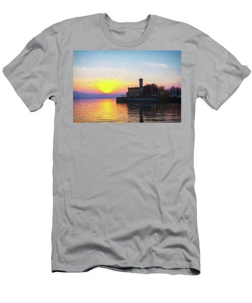 Sunset Colors Men's T-Shirt (Athletic Fit)
