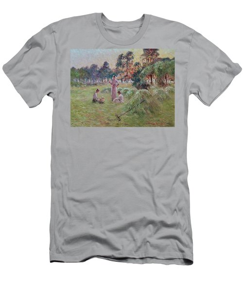 Sunset In Beynac-et-cazenac Men's T-Shirt (Athletic Fit)