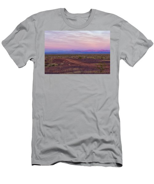 Sunset In Bouse Men's T-Shirt (Athletic Fit)