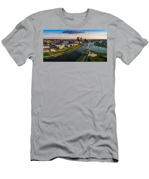 Sunset On Dayton Men's T-Shirt (Athletic Fit)