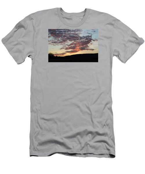 Sunset On Hunton Lane #9 Men's T-Shirt (Athletic Fit)