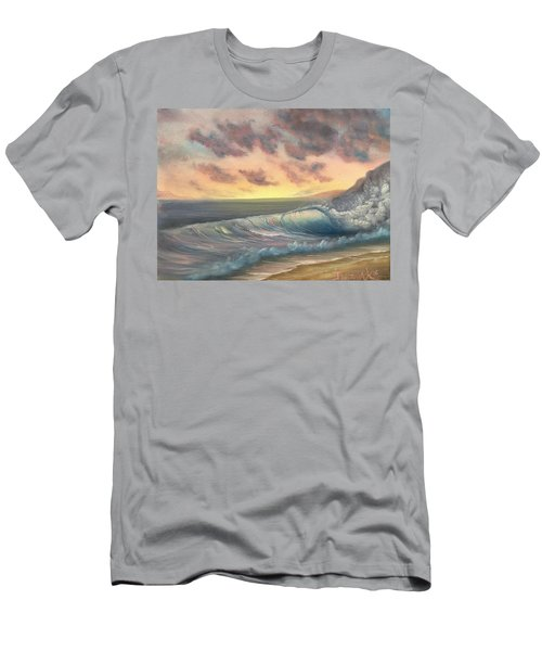 Sunset Surf  Men's T-Shirt (Athletic Fit)