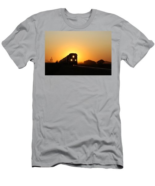 Sunset Express Men's T-Shirt (Athletic Fit)