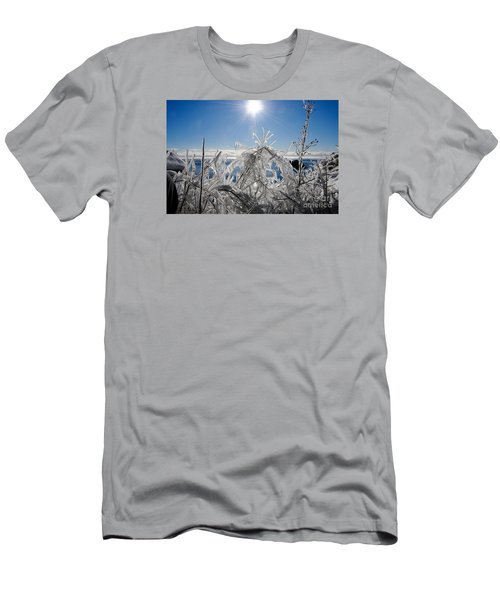 Sunshine And Ice Men's T-Shirt (Athletic Fit)