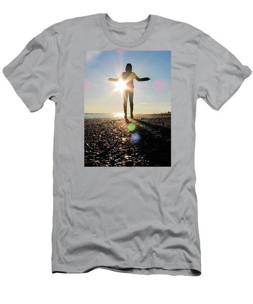 Sunshine Smiles Men's T-Shirt (Athletic Fit)