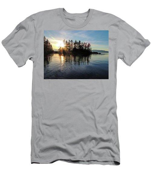 Sunstar Announcing Dusk Men's T-Shirt (Athletic Fit)