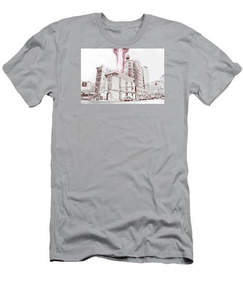 Supernatural Insurance Claim Men's T-Shirt (Slim Fit) by Kurt Ramschissel