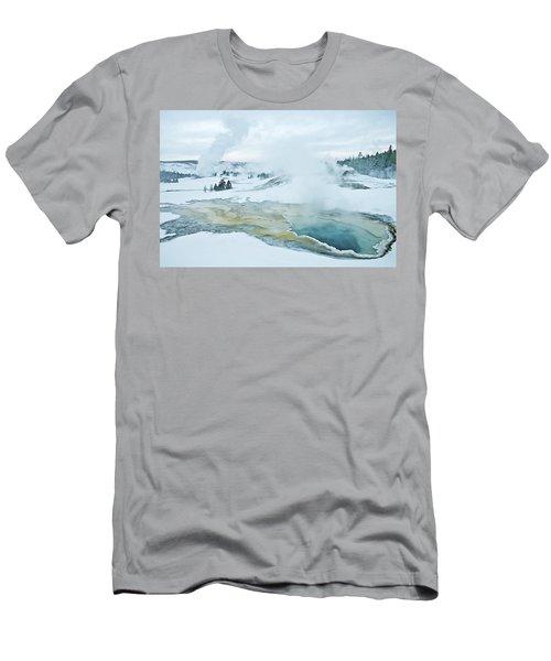 Surreal Landscape Men's T-Shirt (Athletic Fit)