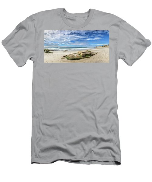 Men's T-Shirt (Slim Fit) featuring the photograph Surrounded By Beauty by Peter Tellone