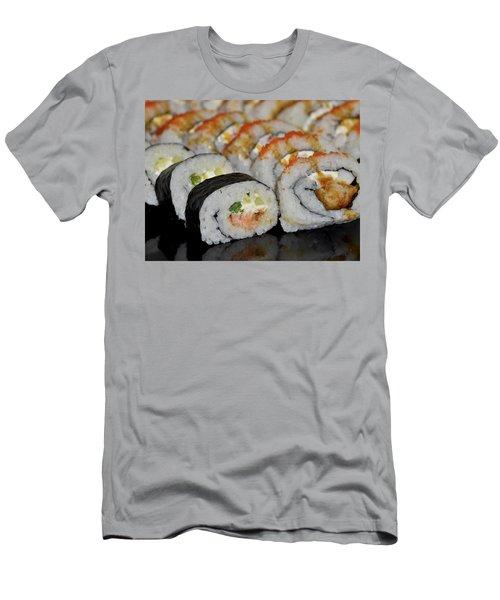 Sushi Rolls From Home Men's T-Shirt (Athletic Fit)