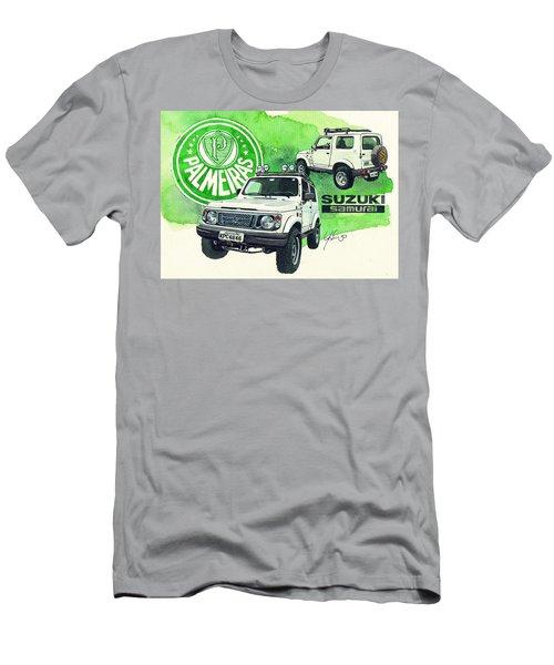 Suzuki Samurai Men's T-Shirt (Athletic Fit)