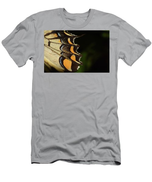 Swallowtail Butterfly Wing Men's T-Shirt (Athletic Fit)