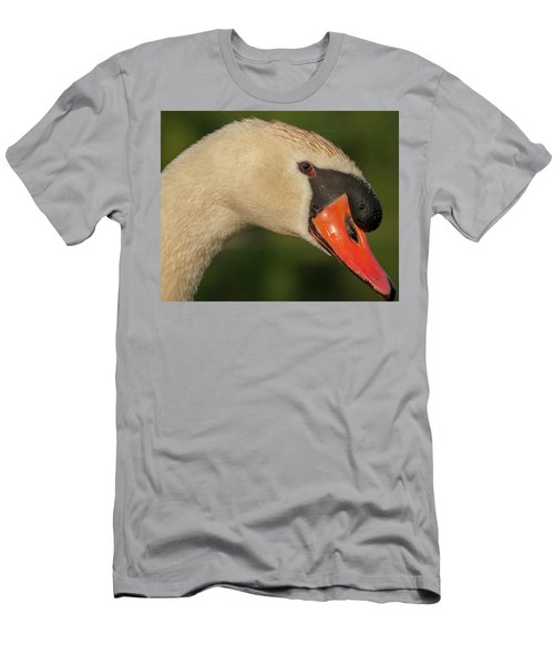 Swan Headshot Men's T-Shirt (Athletic Fit)