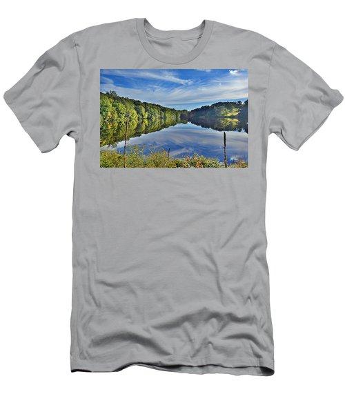 Swan Lake Times Two Men's T-Shirt (Slim Fit) by Jeffrey Friedkin