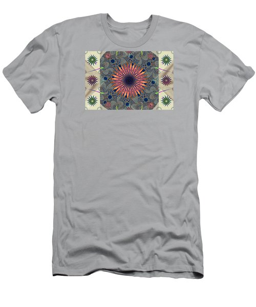 Sweet Daisy Chain Men's T-Shirt (Slim Fit) by Jim Pavelle
