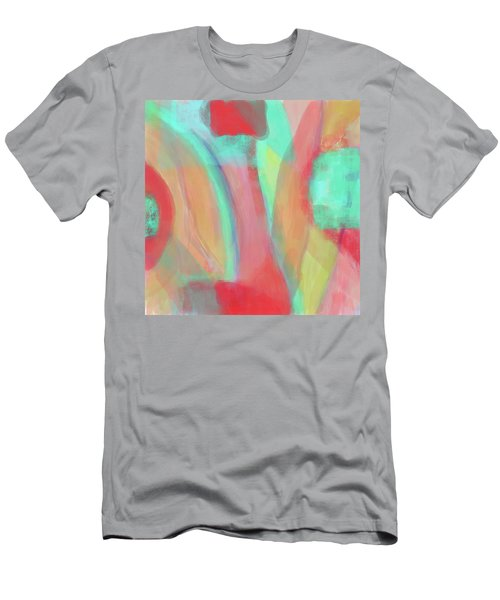 Men's T-Shirt (Slim Fit) featuring the digital art Sweet Little Abstract by Susan Stone