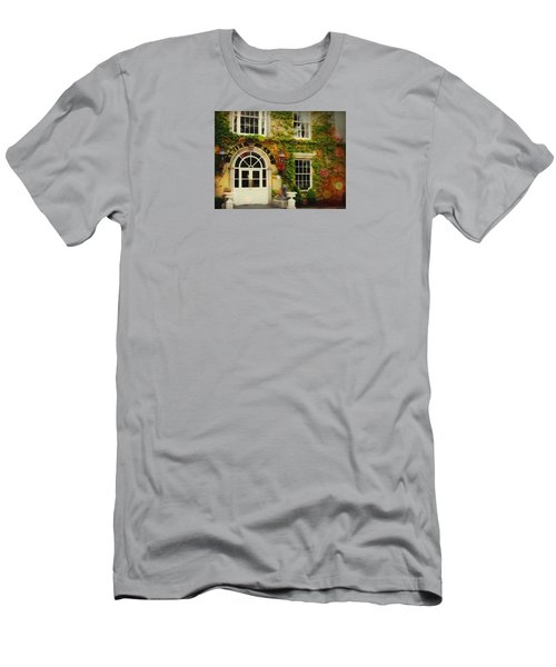 Men's T-Shirt (Slim Fit) featuring the photograph Swift Bar In Dublin Ireland by Robin Regan