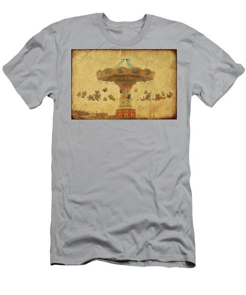 Swing Chair Ride At Jenkinsons Boardwalk - Jersey Shore Men's T-Shirt (Athletic Fit)