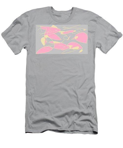 Swirl 3 Men's T-Shirt (Slim Fit) by Linda Velasquez