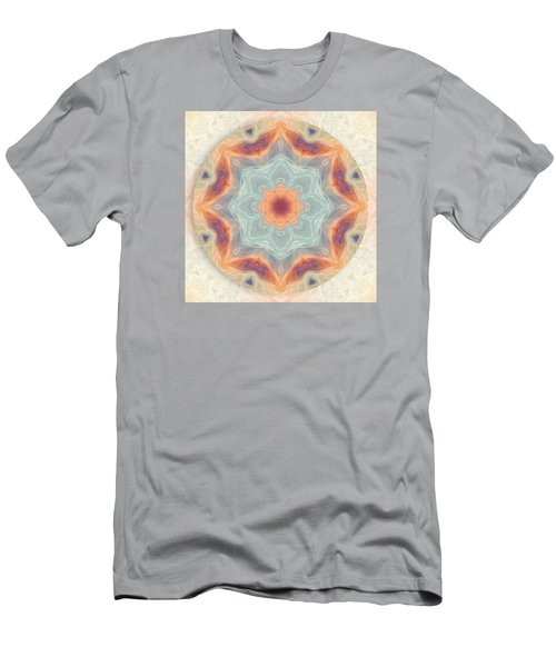 Swirls Of Love Mandala Men's T-Shirt (Athletic Fit)