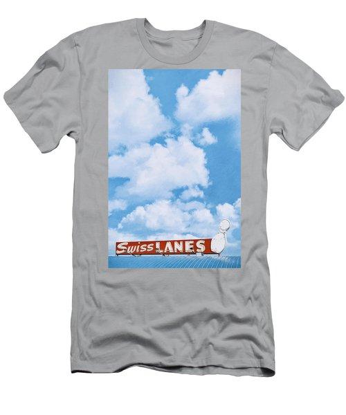 Swiss Lanes Men's T-Shirt (Athletic Fit)