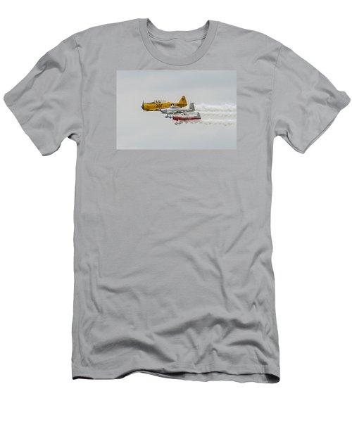 T-6 Texan   Rv-8   Dr-107 Men's T-Shirt (Slim Fit) by Susan  McMenamin