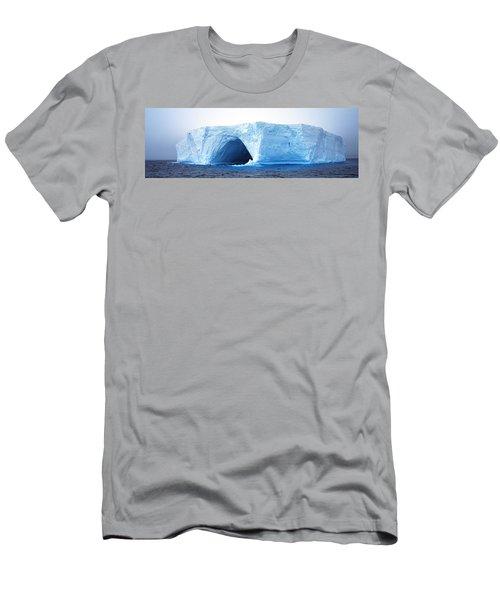 Tabular Iceberg Antarctica Men's T-Shirt (Athletic Fit)