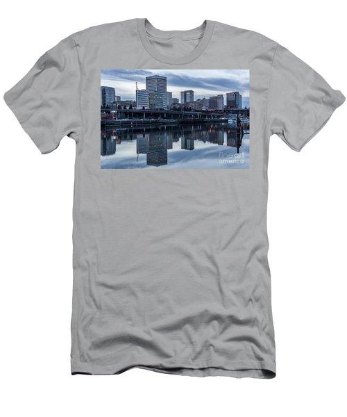 Tacoma Waterfront,washington Men's T-Shirt (Athletic Fit)