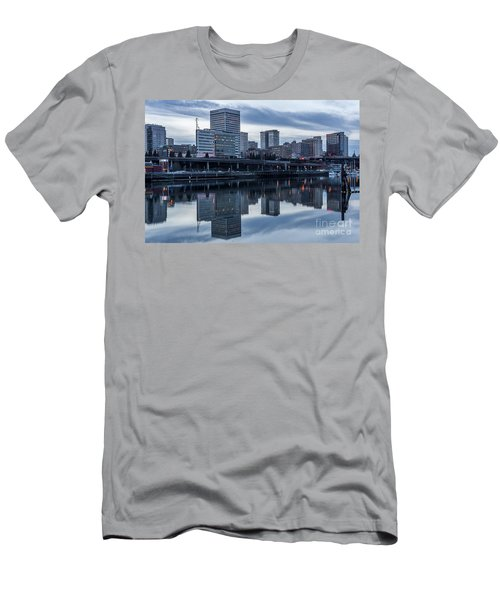 Tacoma Waterfront,washington Men's T-Shirt (Athletic Fit)