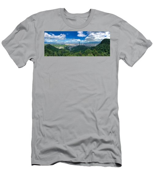 Taipei Panorama Men's T-Shirt (Athletic Fit)