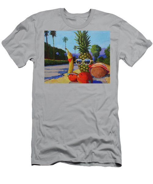 Take A Daily Walk Men's T-Shirt (Athletic Fit)