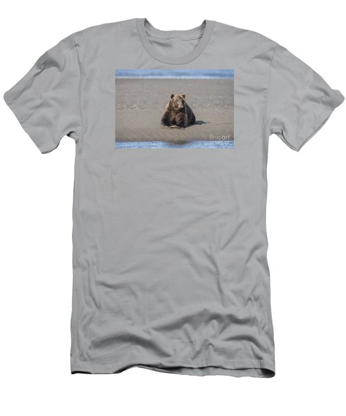 Men's T-Shirt (Slim Fit) featuring the photograph Taking A Break by Sandra Bronstein
