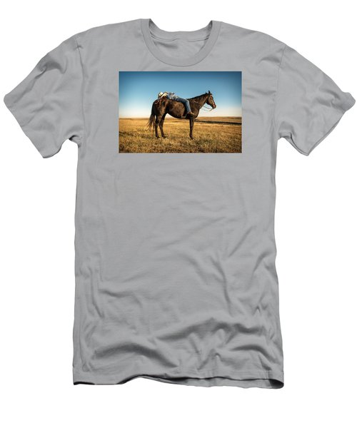 Men's T-Shirt (Athletic Fit) featuring the photograph Taking A Snooze by Todd Klassy