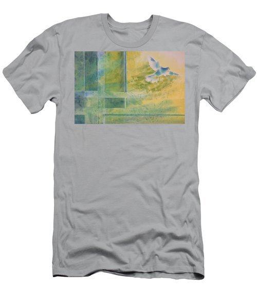Taking Flight To The Light Men's T-Shirt (Athletic Fit)