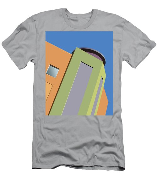 Talin Tilt Men's T-Shirt (Slim Fit) by Nikolyn McDonald