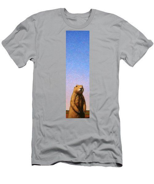 Tall Prairie Dog Men's T-Shirt (Athletic Fit)