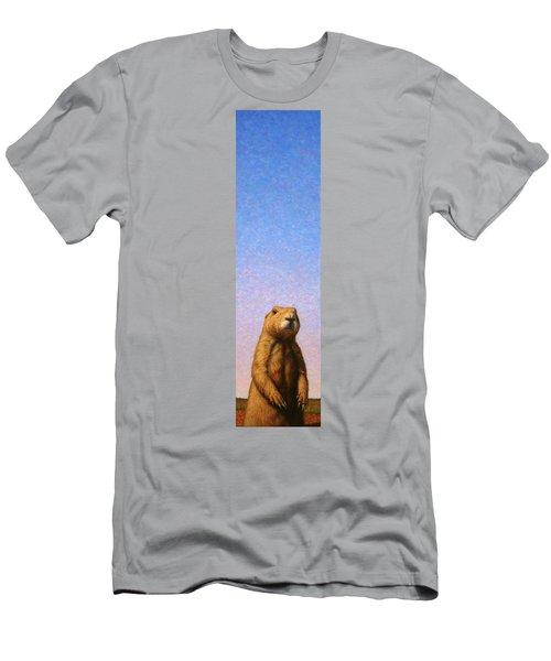 Tall Prairie Dog Men's T-Shirt (Athletic Fit)