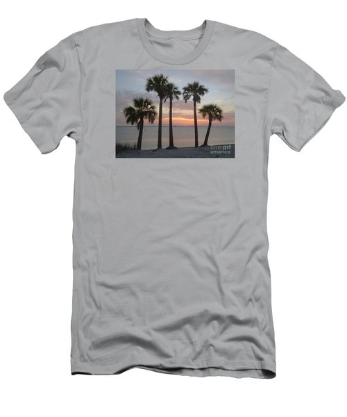 Tampa Bay Sunset Men's T-Shirt (Athletic Fit)