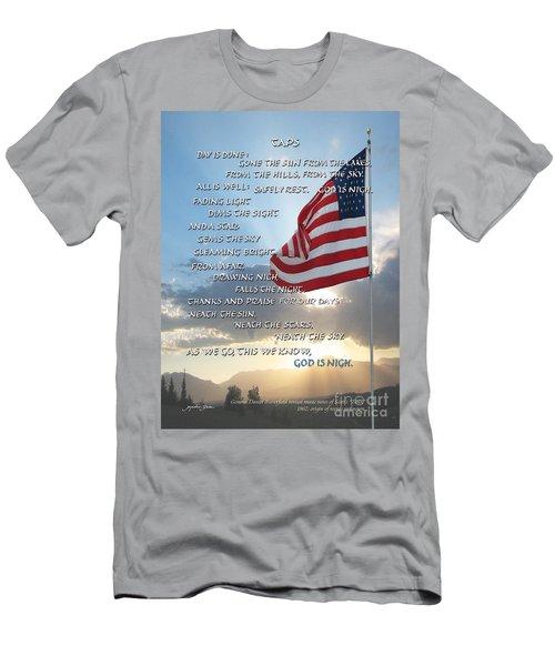 Taps Words Men's T-Shirt (Athletic Fit)
