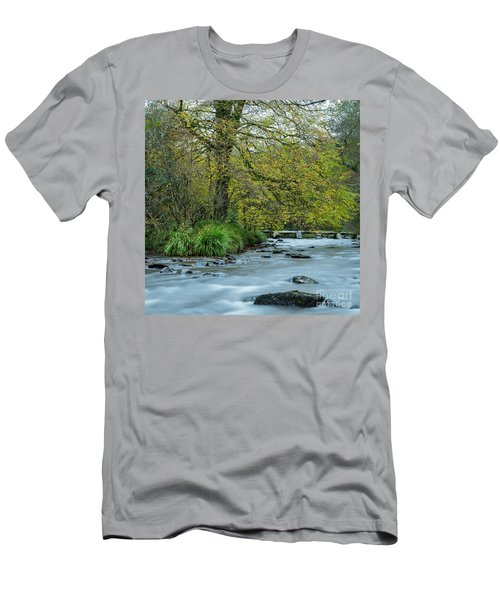 Tarr Steps Clapper Bridge Men's T-Shirt (Athletic Fit)