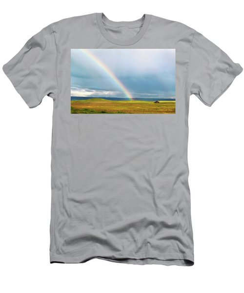 Taste The Rainbow Men's T-Shirt (Athletic Fit)