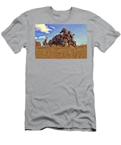Tatanka Men's T-Shirt (Slim Fit) by Dave Luebbert