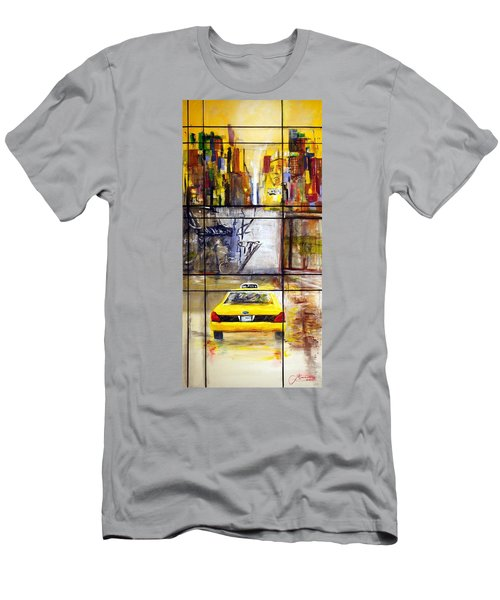 Taxi 7 Men's T-Shirt (Athletic Fit)