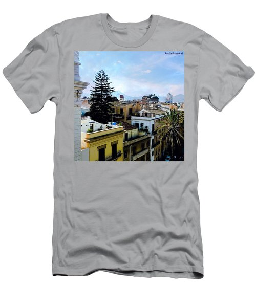 #tbt Family Trip To #sicily March 2011 Men's T-Shirt (Athletic Fit)