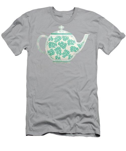 Teapot Garden Party 1 Men's T-Shirt (Athletic Fit)
