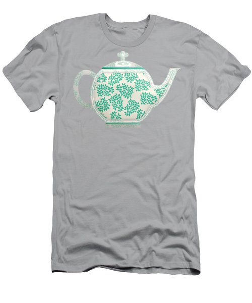 Teapot Garden Party 1 Men's T-Shirt (Athletic Fit)