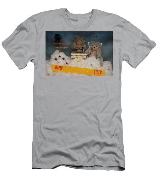 Teddy Bears In Heaven Men's T-Shirt (Athletic Fit)