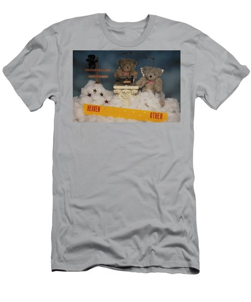 Teddy Bears In Heaven Men's T-Shirt (Athletic Fit)