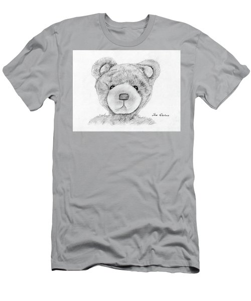 Teddybear Portrait Men's T-Shirt (Athletic Fit)