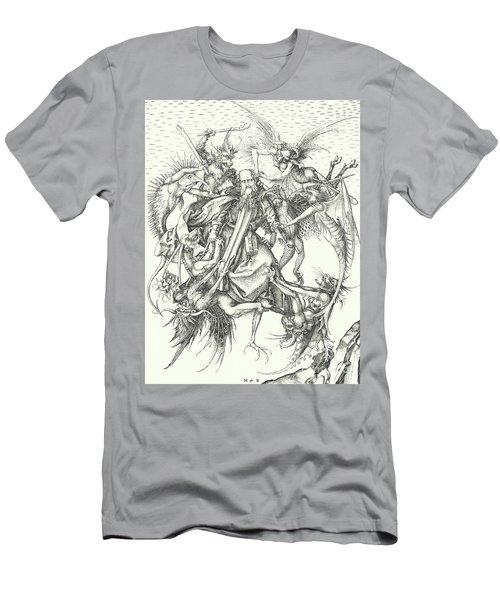 Temptation Of St Anthony  Men's T-Shirt (Athletic Fit)